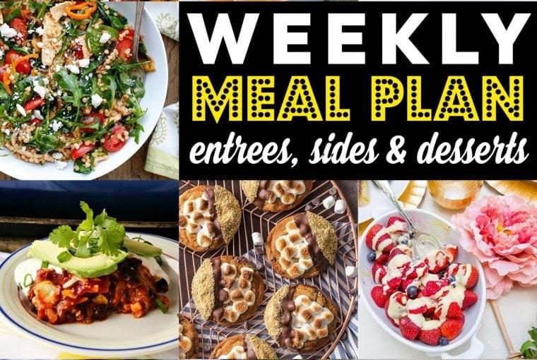 Weekly Meal Plan #79