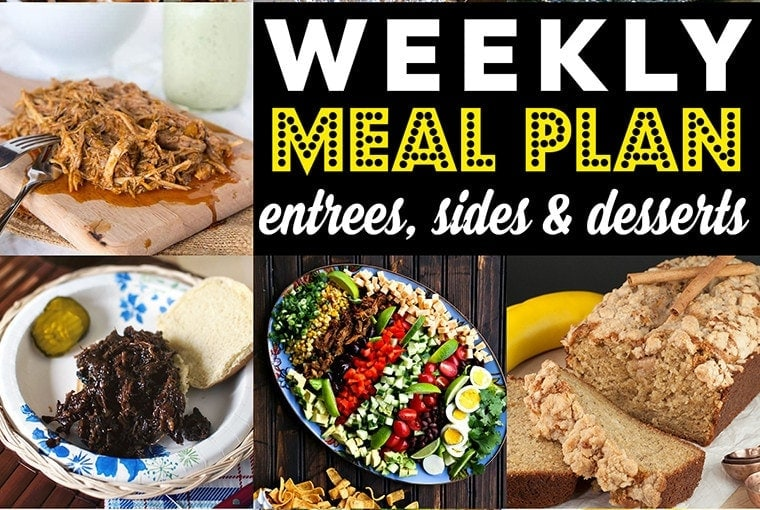 Weekly Meal Plan #80