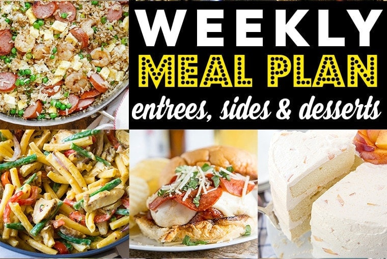 Weekly Meal Plan #82