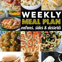 Weekly Meal Plan #83