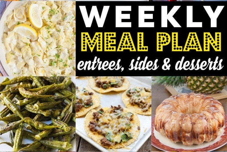 Weekly Meal Plan #84