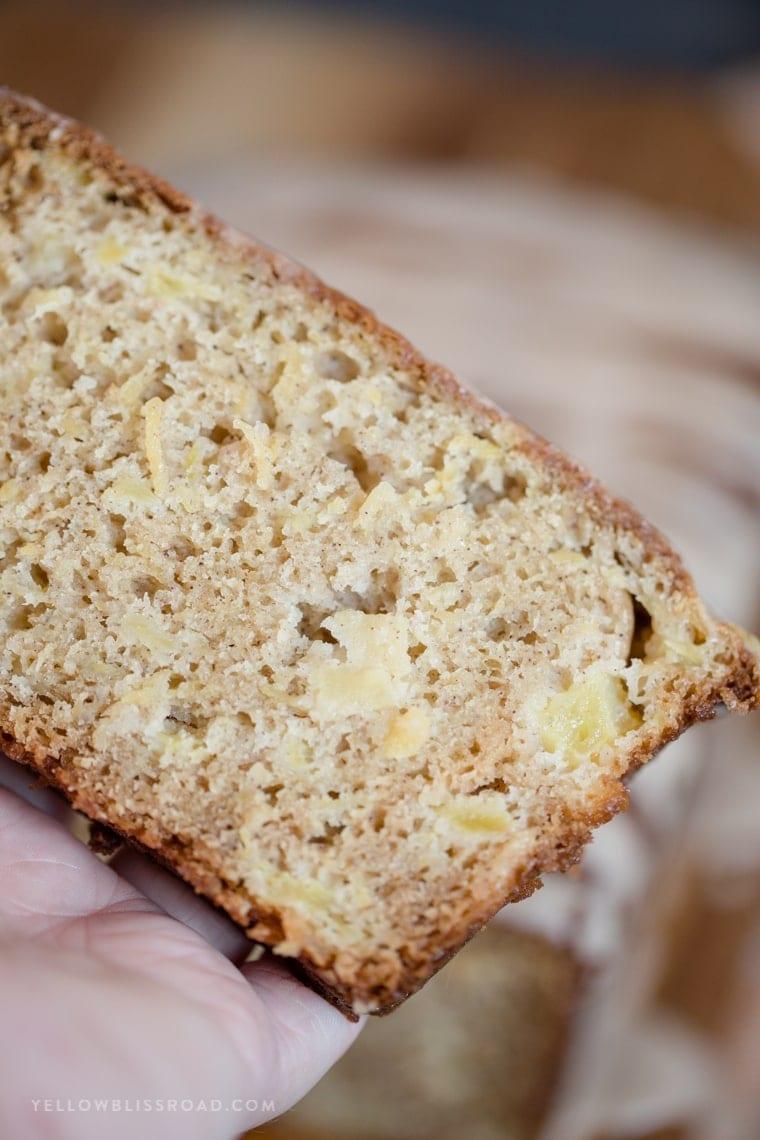 Cinnamon Pineapple Quick Bread