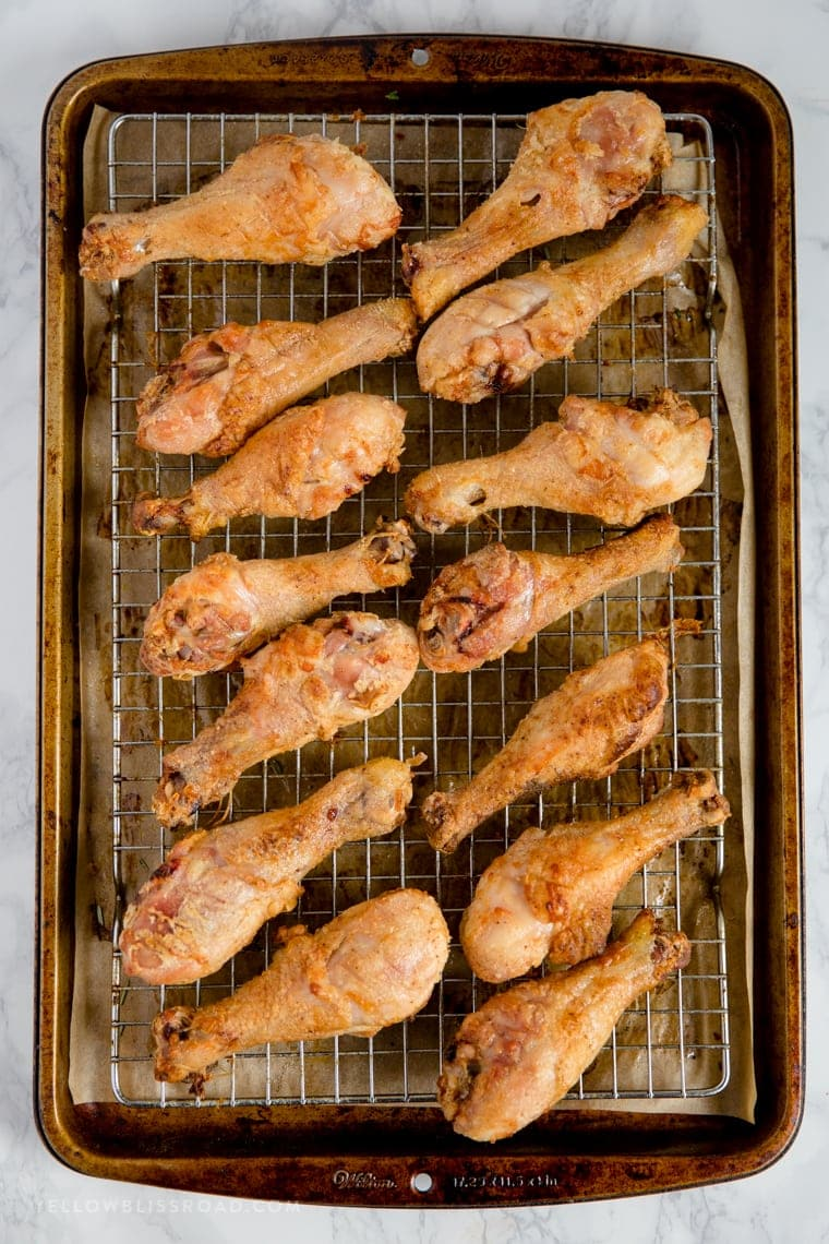 Easy Oven Baked Chicken Drumsticks