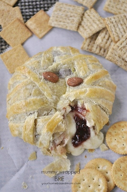 Halloween Meal Plan -  Mummy Brie