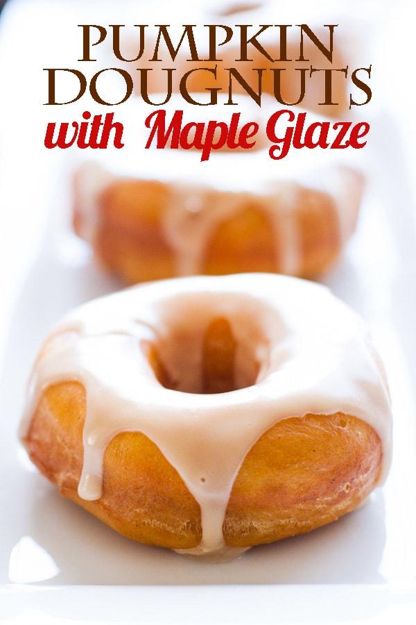 Social media image of Pumpkin Donuts