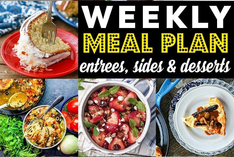 Weekly Meal Plan #85