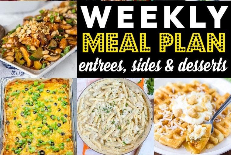 Weekly Meal Plan #86