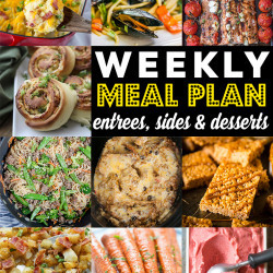Weekly Meal Plan #87