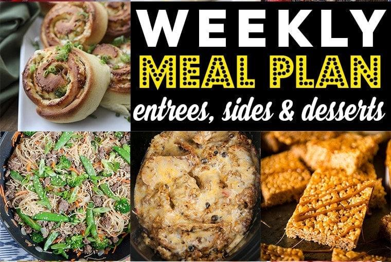 Weekly Meal Plan #87