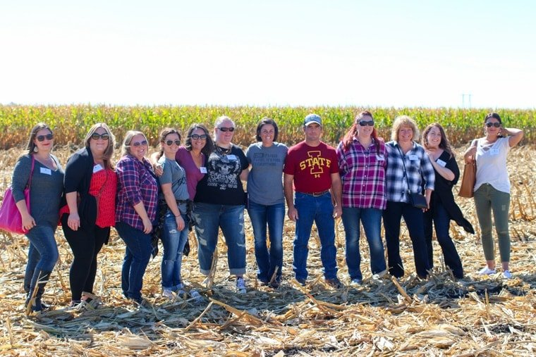 Iowa Corn Quest bloggers