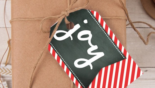 Free Printable Mix & Match Christmas Gift Tags