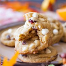 Orange Cranberry White Chocolate Chip Cookies