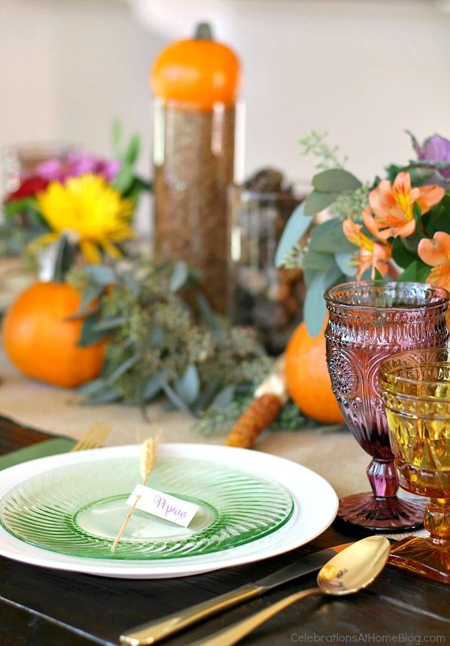 Thanksgiving Table Decor | Party Decor for The Ultimate Thanksgiving Menu