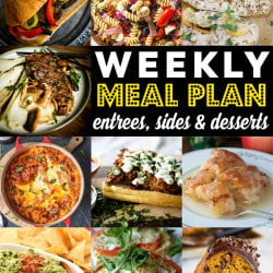 Weekly Meal Plan #90