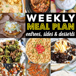 Weekly Meal Plan #92
