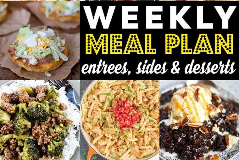 Weekly Meal Plan #92