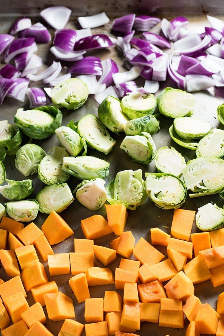 Roasted Winter Vegetables for Thanksgiving