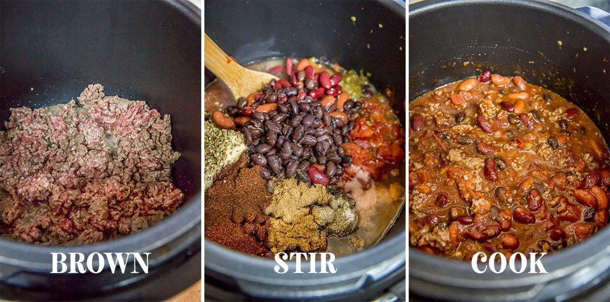 Instant Pot Chili Recipe Yellowblissroad Com