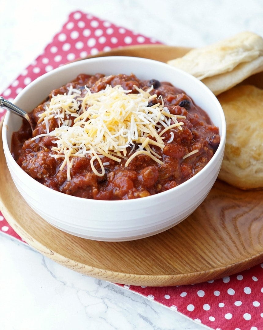 Instant Pot Chili - The BEST Chili recipe, adapted for everyone favorite kitchen gadget!