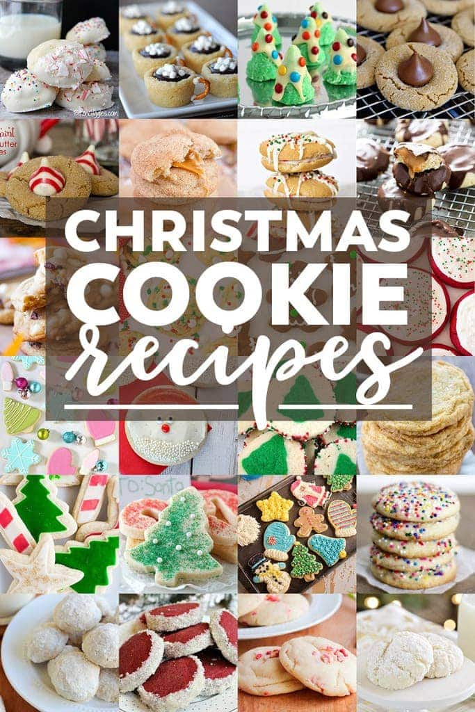 50 of the best, most festive Christmas Cookies! Perfect for Cookie Exchanges and gifts.