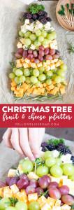 Christmas Tree Fruit Platter.Christmas Tree Fruit Cheese Platter Yellowblissroad Com