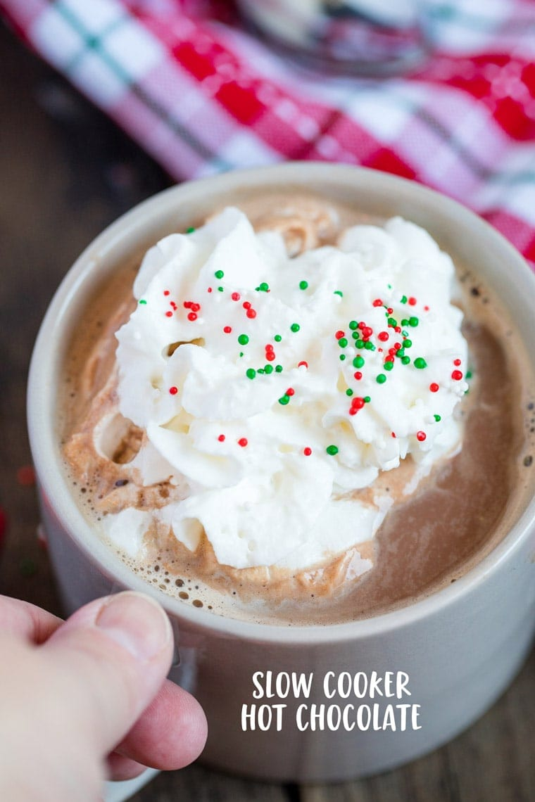 How to make the best Slow Cooker Hot Chocolate