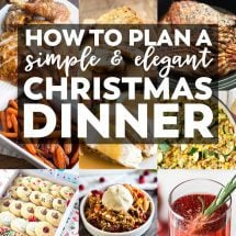 elegant christmas dinner christmas archives yellow bliss road - Simple Christmas Dinner