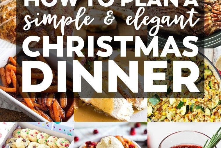How to Plan a Simple & Elegant Christmas Dinner + A $200 CASH GIVEAWAY!