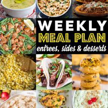 Weekly Meal Plan #95