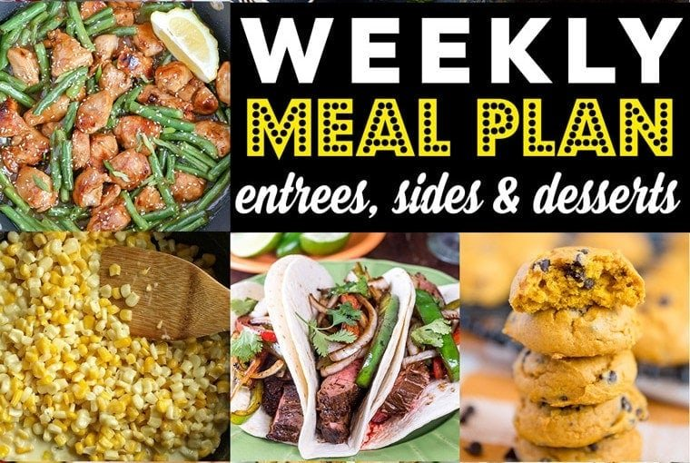 Weekly Meal Plan #93
