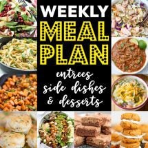 Weekly Meal Plan #94