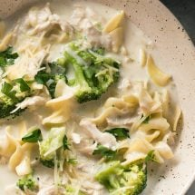 Chicken Alfredo Soup