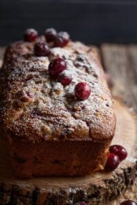 cranberry walnut quick bread