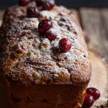 cranberry walnut quick bread