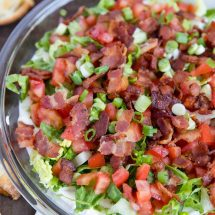 BLT Dip with Crostini