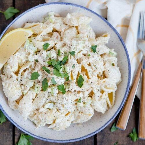 Social media image of Tuna Pasta Salad