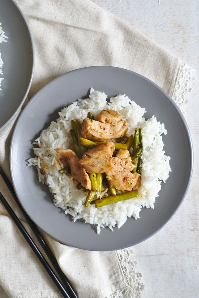 Black Pepper Chicken Stir Fry