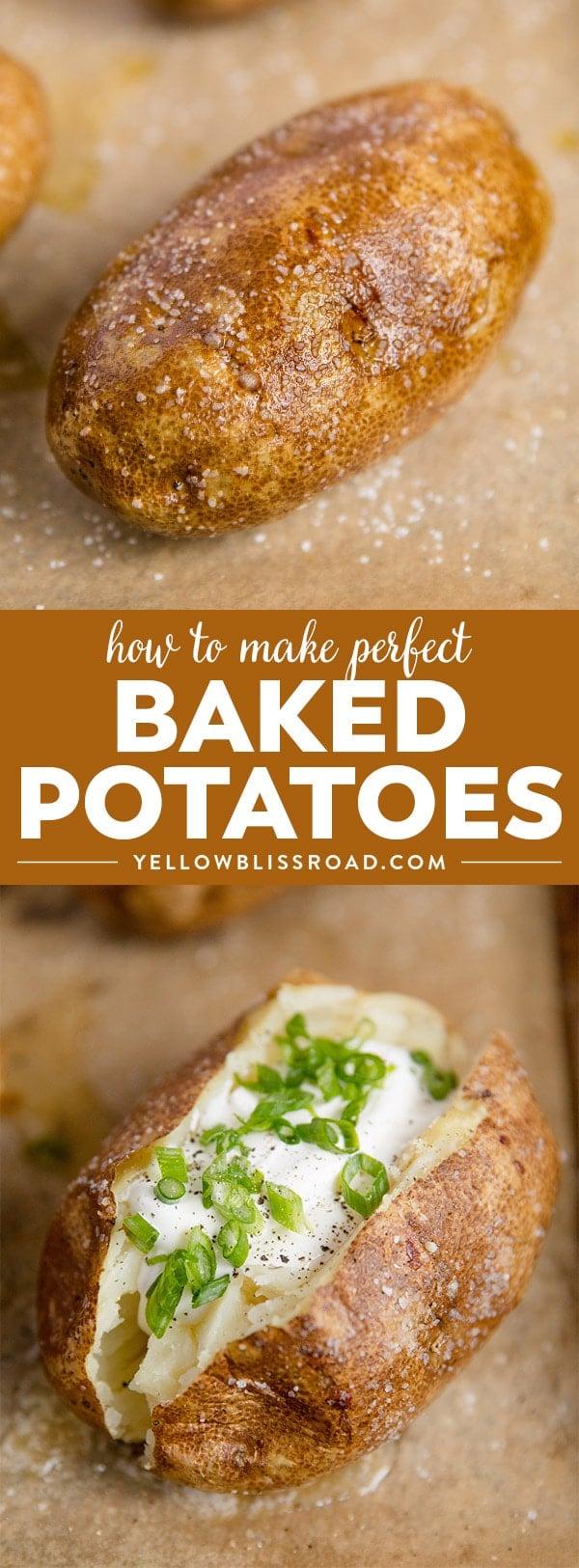 Social media image of baked potatoes