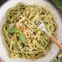 Walnut Basil Pesto Recipe