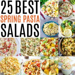 Social media image of 25 Best Spring Pasta Salads