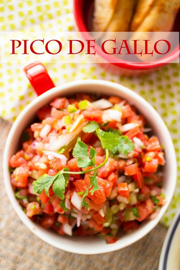 Social media image of Pico de Gallo