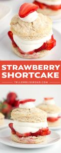 Social media image of strawberry shortcake