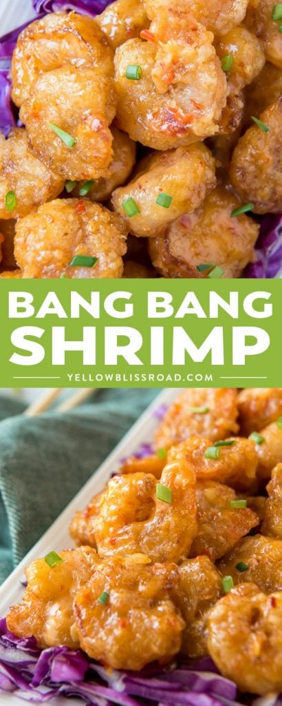 Often duplicated, always delicious, this copycat Bonefish Grill Bang Bang Shrimp recipe will have your family craving seafood every week! Crispy friedshrimp are tossed in a creamy, slightly spicy sauce that's made with a secret ingredient to take it over the top!