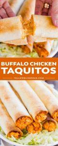 Social media image of Buffalo Chicken Taquitos