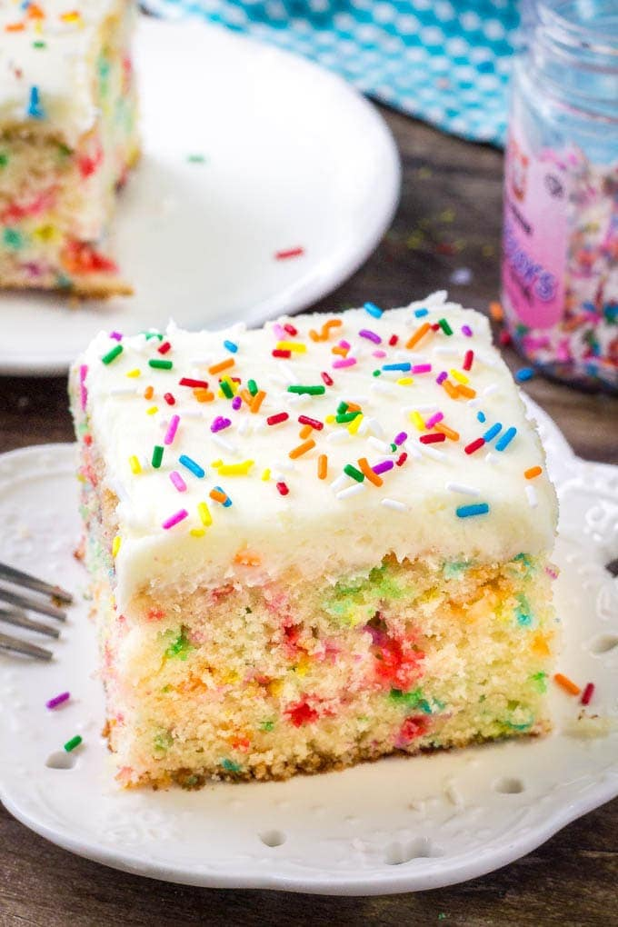 Say Goodbye To The Box Mix And Make This Easy Funfetti Cake Recipe Instead