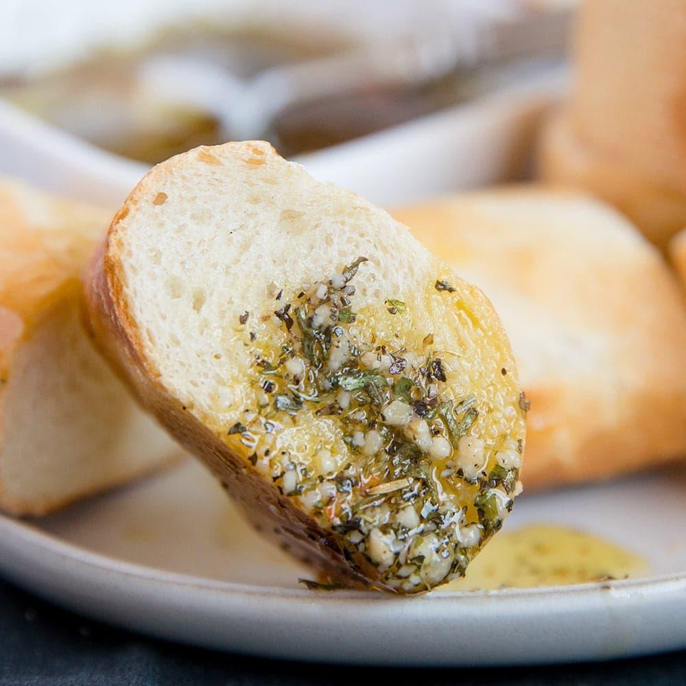 Restaurant Style Olive Oil Bread Dip Recipe (Video