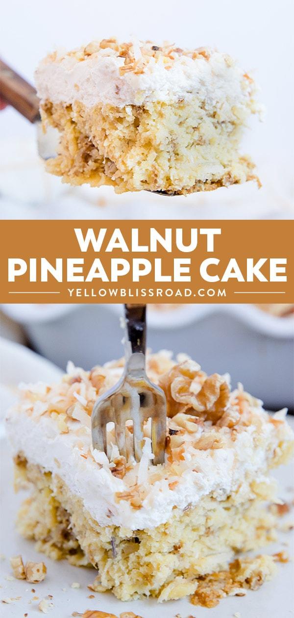 Social Media Image for Walnut Pineapple Cake