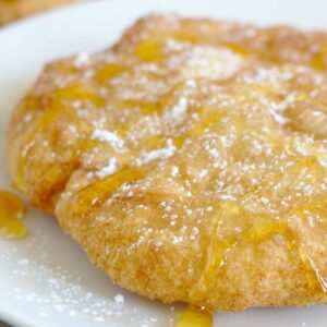 A piece of Indian Fry Bread