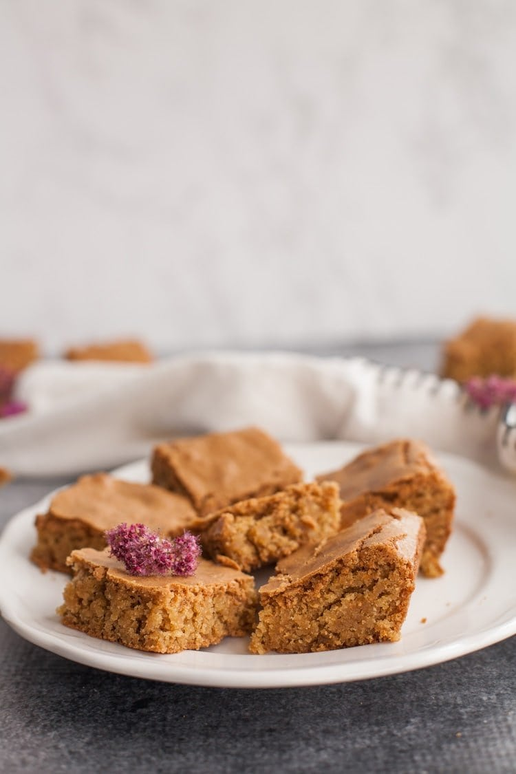 Classic Blondies made with simple ingredients you already have!