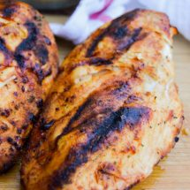 Simple to make yet full of flavor. This BBQ Ranch Grilled Chicken Breast is one of our favorite summer grilling recipes!